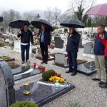 Na grobu Marijana Stresa