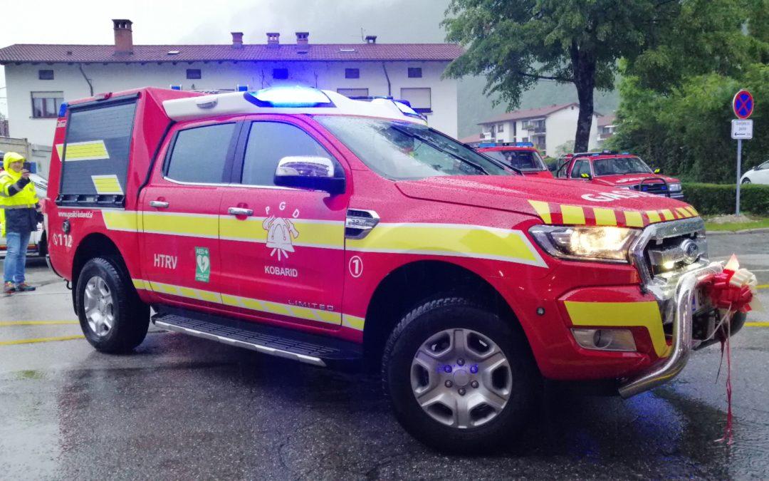 Velik dan za kobariške gasilce